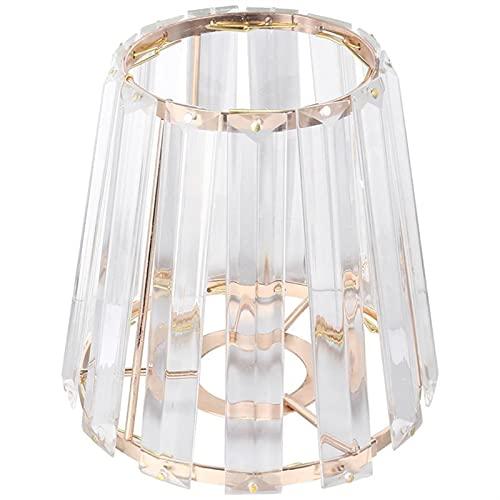 YSDSPTG Tulipa de lámpara Cubierta DE LUZ DE Cristal LUZ Cubierta DE LUZ Cubierta DE LA LÁMPARA DE TEFILLO DE LA Pantalla DE ARTH