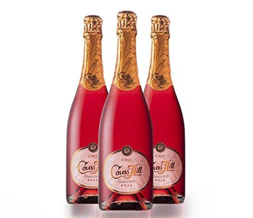 Cavas Hill 1887 Rosado Garnacha Monastrell - 75 cl - 3 botellas