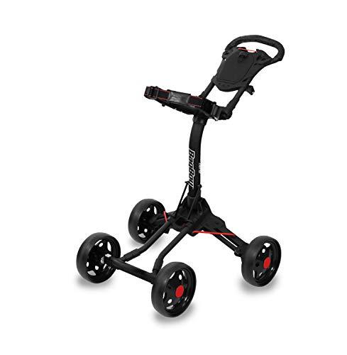 Quad Junior Push Cart, Black/Red