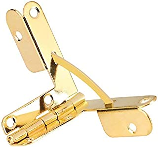 90 Degree Support Spring Hinge for Jewelry Wine Case Watch Box Wooden Lid 20pcs(Gold)