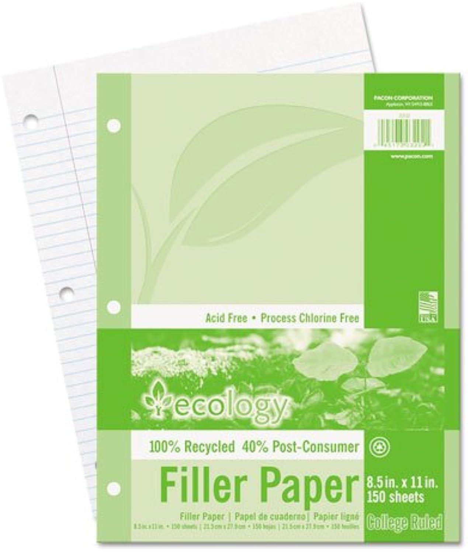 ECOLOGY Recycled Filler Papier 150Sh B007FICKB2  | Online