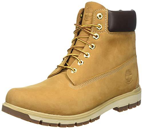 Timberland Radford 6-Inch Waterproof, Botas para Hombre, Marrón Wheat Nubuck, 43 EU