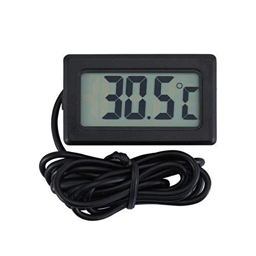 Ba30DEllylelly TPM-10 LCD thermomètre numérique étanche à l'intérieur extérieur réfrigérateur congélateur température mètre -50~70 Celsius NTC capteur