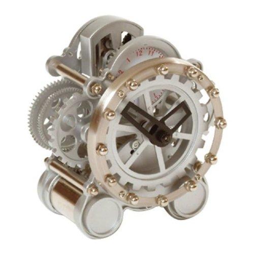 Invotis Uhr/Wecker Uhr Mini sichtbar Getriebe
