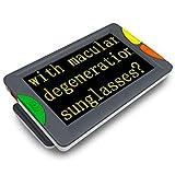 Fambasis Videoingranditore digitale portatile Lente di ingrandimento per ipovedenti da 4.3 pollici, ausilio visivo per lettura con diverse modalità 15 colore