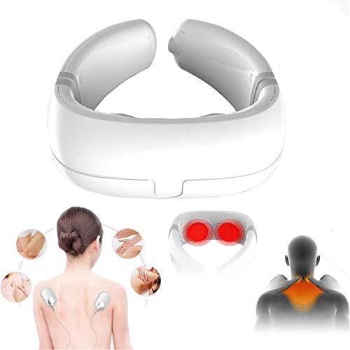 Preisvergleich Produktbild Sunshine Drahtlose Nackenwirbel Massage Instrument Hals Und Schulter Heiße Moxibustion Physiotherapie Instrument Multifunktionale Wirbel Traktion (Bluetooth)