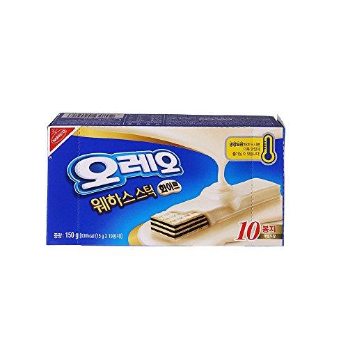Nabisco, Handi Snacks, Oreo Wafer Sticks White 5.3 Oz Box (10pcs)
