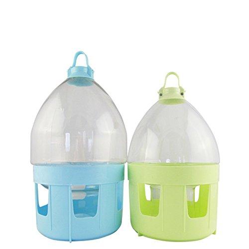 Farm & Ranch Geflügel Taube Trinkflasche hochwertigem Kunststoff Taube Wasserspender Wasser Topf Utensilien Taube Trinken Produkt (4L)