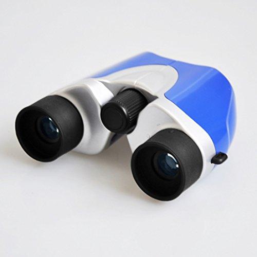 HAOERHOME Jumelles compactes Grand Format 8 Fois 21 mm (Color : Blue)