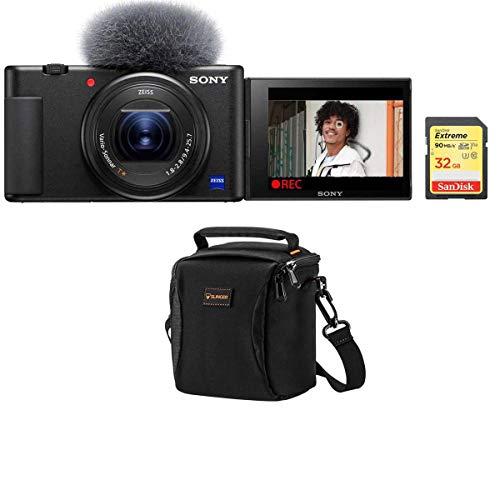Sony ZV-1 Compact 4K HD Digital Camera, Black...