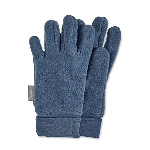 Sterntaler Unisex Kinder Fingerhandschuh, Tintenblau Mel, 3