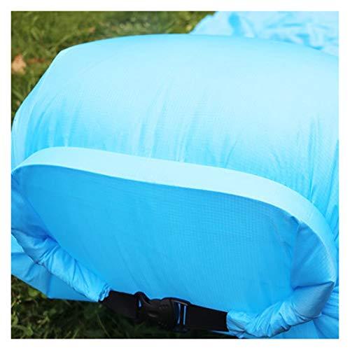 ピクニックマット 防水膨脹可能なマットの屋外寝台パッド枕ピクニックキャンプマット怠惰な空気ソファーチェアポータブルビーチベッドエアマットル ナイロン (サイズ : Two people)