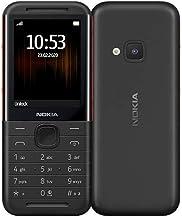 NOKIA 5310 Feature Phone, 16MB RAM, Wireless FM Radio - Black/Red