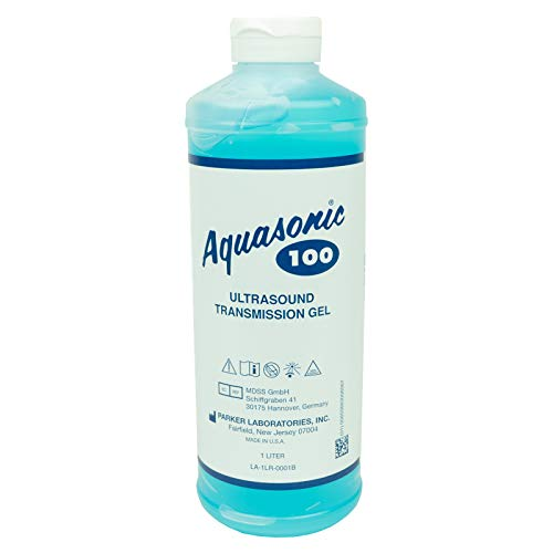 Aquasonic - 30807 Ultrasound Gel, Gel, 1-Liter with Dispenser Cap