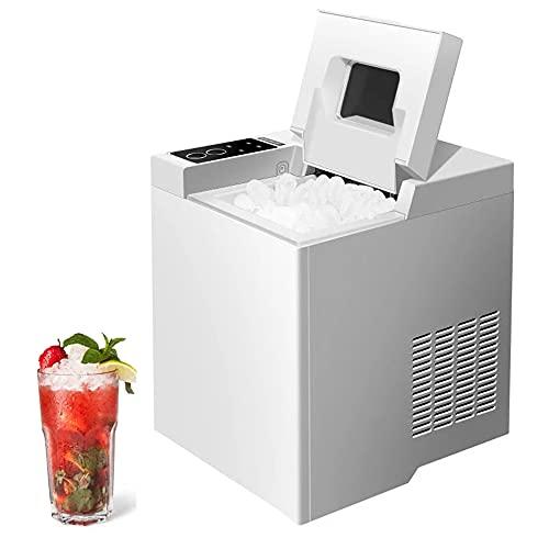 Máquina comercial de cubitos de hielo redondos, encimera de máquina de hielo portátil con tanque de 1.3L, máquina de hacer bolas de hielo para fiestas, CE FCC CCC