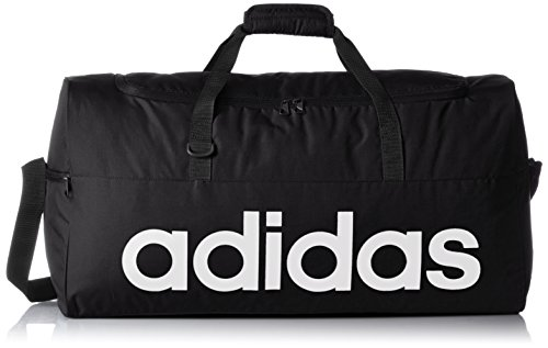 adidas Sporttasche Linear Performance Teambag Small Tasche, Black/White, 47 x 25 x 20 cm