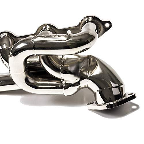 """BBK 4020 1-3/4"""" Shorty Tuned Length Performance Exhaust Headers for Camaro SS, LS3, L99 - Chrome Finish"""