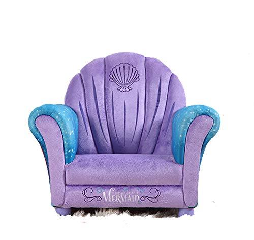 Kindersofa Lila Kind gepolstert Kleinkind Sofa Stuhl, Wohnzimmer Sitzsäcke
