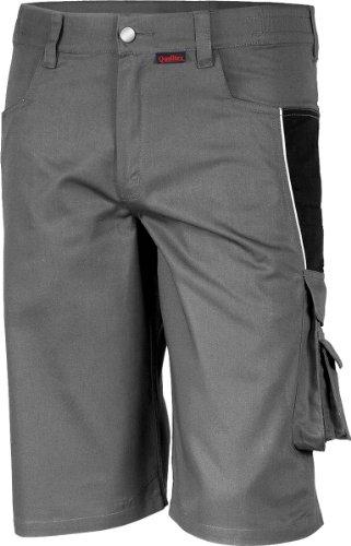 Qualitex - Shorts PRO MG 245 - mehrere Farben Gr. X-Large, grau / schwarz