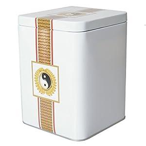 Boîte à thé carrée pour env. 200g