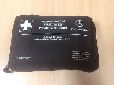 Mercedes Benz Auto First Aid Kit Pack in Zip Bag Marke New