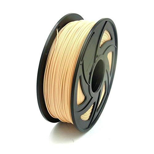 S SIENOC 3D printer Composite PETG 1.75mm Printer filament - with coil 1kg (PETG Skin Color)