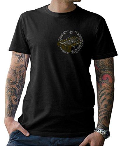NG articlezz – Herren T-Shirt Tischkicker Oldschool Tischfußball Trikot Gr. S-5XL
