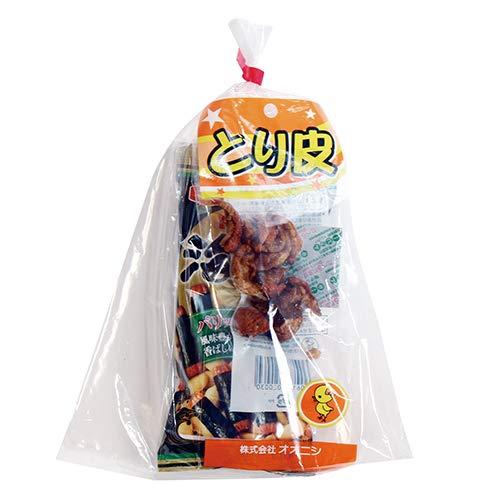 広島名物!とり皮とおつまみお菓子袋詰め D 詰め合わせ 駄菓子 おかしのマーチ