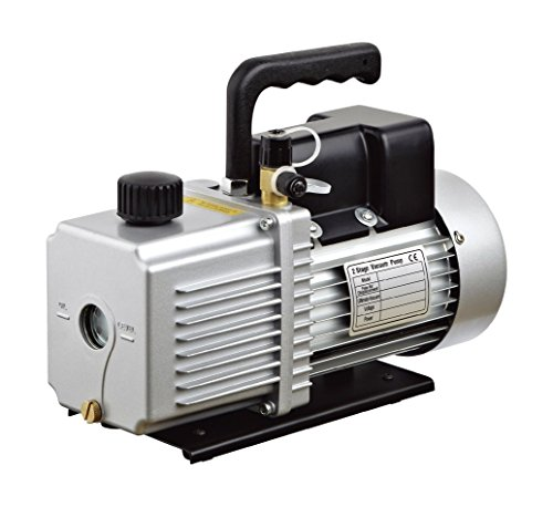 HFS (R Vacuum Pump Double Stage 12CFM ; 340 L/min ; 110V/60HZ ; Inlet Port: 1/4' and 3/8' SAE; Ultimate Vacuum: 2Pa or...