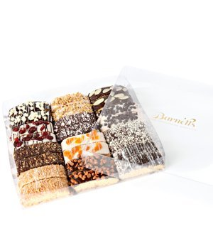 Gourmet Chocolate Biscotti Gift Basket - Large Sampler Box