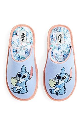 Stitch Chaussons d'intérieur pour femme Disney Taille M