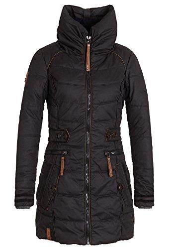 Damen Jacke Naketano Knastrologin IV Jacke, Größe S, Farbe Black