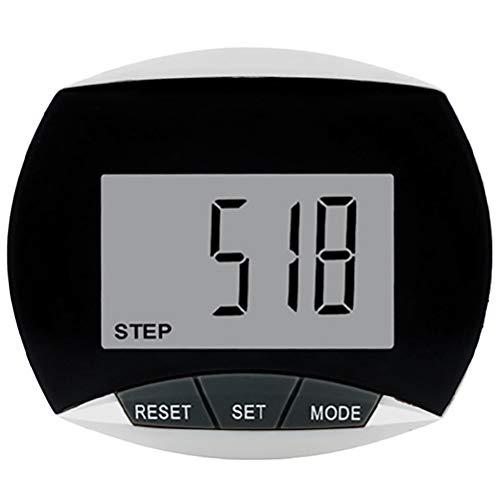Smosyo Schrittzähler Clip Einfache Pedometer Bedienung Schrittzähler Pedometer Fitness Armband Fitnessarmband Schritt/Distanz/Kalorien/Zähler Counter Fitness Tracker