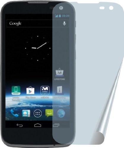 4ProTec I 3X Medion Life X4701 MD98272 Premium Displayschutzfolie incl. Putztuch Bildschirmschutzfolie Schutzhülle Displayschutz Displayfolie Folie kristallklar
