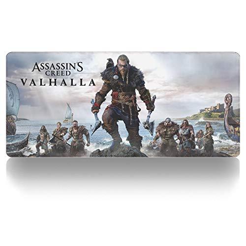Alfombrilla de ratón Anime y Juegos,Assassin'S Creed Valhalla-A Alfombrilla para Ordenador portátil,...