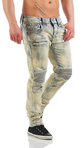 Rock Revival - Jeans - Skinny - Uomo Blau 36W