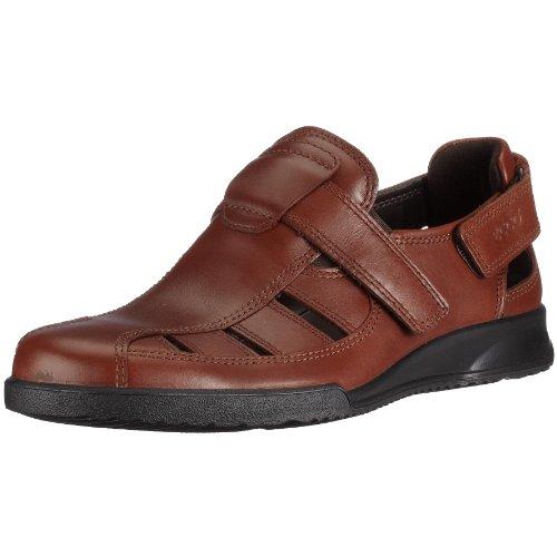 Ecco 022654-00101 - Sandalias de Vestir de Cuero para Hombre, Color marrón, Talla 50