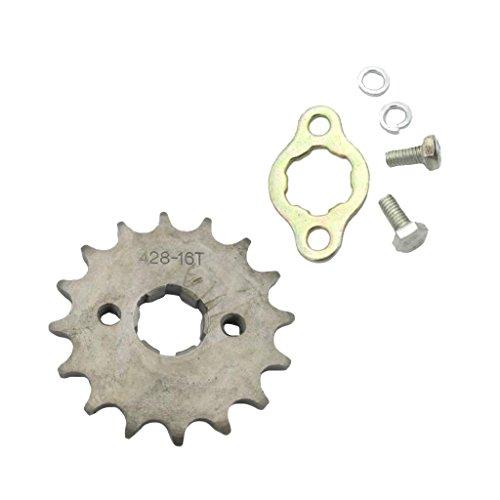 H HILABEE 16 Zähne 428 Kettenrad Ritzel Für Trail Dirt Bike ATV Quad Buggy