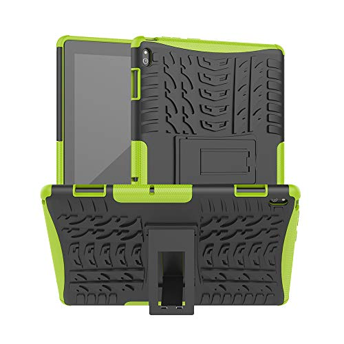 XITODA Case for Lenovo Tab E10, Armor Style Hybrid PC + TPU Protective Case with Stand for Lenovo Tab E10 TB-X104F/L 10.1' Tablet 2018 Cover Protection(Green)