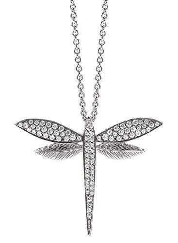 Viventy Damen-Collier aus Silber Libelle 781892