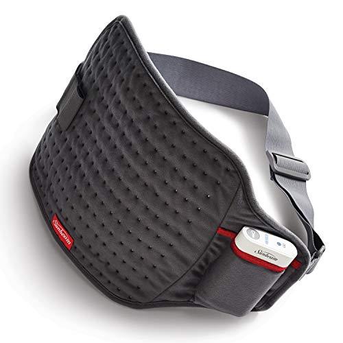 Sunbeam GoHeat - Almohadilla de calefacción inalámbrica con Cargador estándar, Color Gris Pizarra