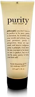 Philosophy Purity Made Simple Facial Cleanser Gel & Eye Makeup Remover 225ml/7.5oz