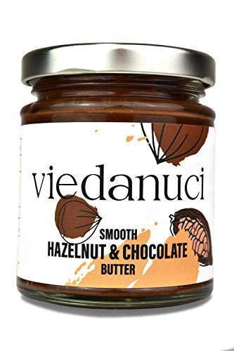Viedanuci - Crema de untar de chocolate con frutos secos, 170 g (pack de 2)