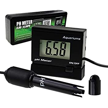 Digital pH Monitor Meter ATC 0~14.00pH Replaceable Electrode Probe BNC Water Quality Monitoring Tester Kit Aquarium Hydroponics Spa Tank Pool Laboratories
