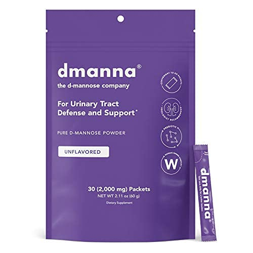 D-mannose Powder To Go Packets with 2 000mg per Serving  Fast-Acting  Natural Urinary Tract Defense  Support UTI Prevention  No Cranberry  Easy Open Single-Serve Packet  Supplement Drink Mix  30 Count