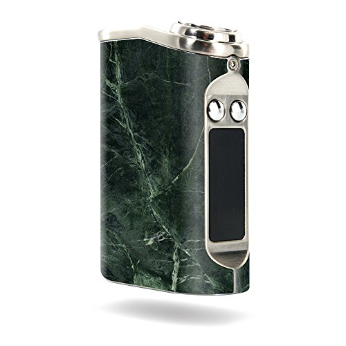 MightySkins Skin Compatible with Tesla Nano 60W TC – Green Marble   Protective, Durable, and Unique Vinyl Decal wrap Cover   Easy to Apply, Remove, and Change Styles   Made in The USA