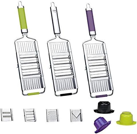 Gigant Multi Slicer Mandolin with 4Inserts purple
