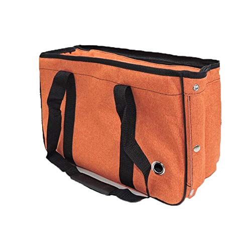 SWNN Cama para perro pequeño bomei de peluche de verano para mascotas, bolsa portátil para gato, bolsa práctica bolsa de transporte para perro (color: naranja, tamaño: M)
