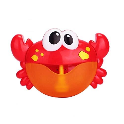 shentaotao Bebé Baño De Espuma De La Rana De Juguete Bubble Maker Bubble Blower Máquina De Burbujas con 12 Canción De Cuna Bañera De Burbujas Juguetes para Niños Baby Kids 1 Set