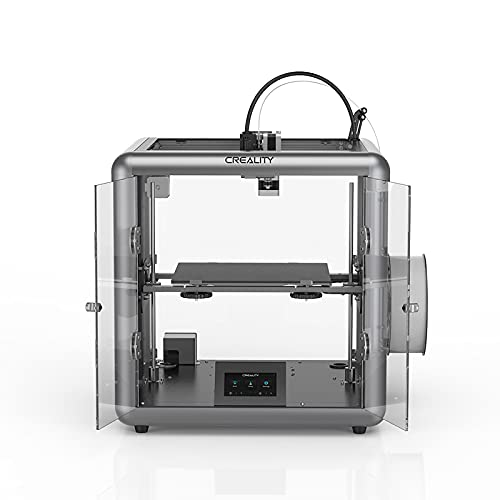 lyq The 3D Printer Is Equipped With A Silent Motherboard, A Semi-enclosed Chassis, And A Carbon Crystal Silicon Glass Platform That Is Uniformly Heated To Print Without Warping